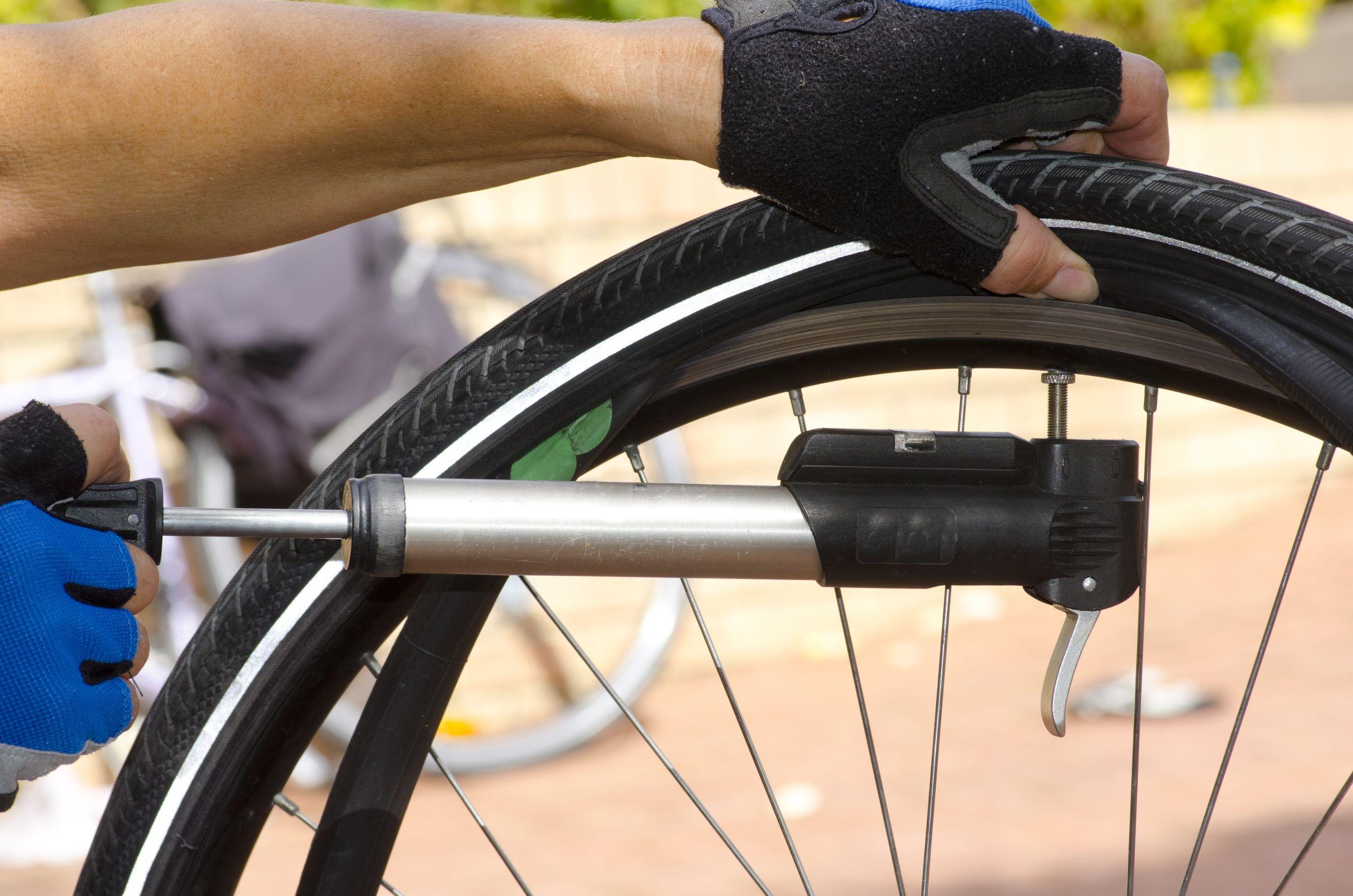 Fahrradpumpe