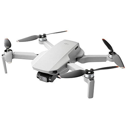 DJI Mini 2 - Ultraleichter und faltbarer Drohnen-Quadkopter, 3-Achsen-Gimbal mit 4K-Kamera, 12MP Foto, 31 Minuten Flugzeit, OcuSync 2.0 HD-Videoübertragung, Mavic Mini, QuickShots mit DJI Fly App