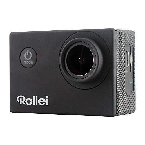 Rollei Actioncam 4S Plus - WiFi Action-Cam mit 4K Video-Auflösung, Wasserdichter Action Camcorder mit viel Zubehör.