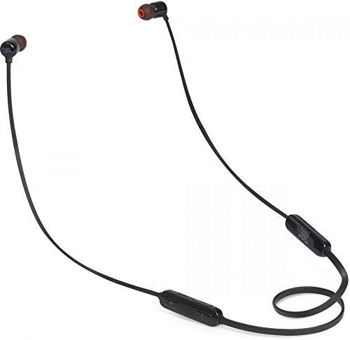 JBL Tune110BT In-Ear Bluetooth-Kopfhörer in Schwarz – Kabellose Ohrhörer mit integriertem Mikrofon – Musik Streaming bis zu 6 Stunden mit nur einer Akku-Ladung
